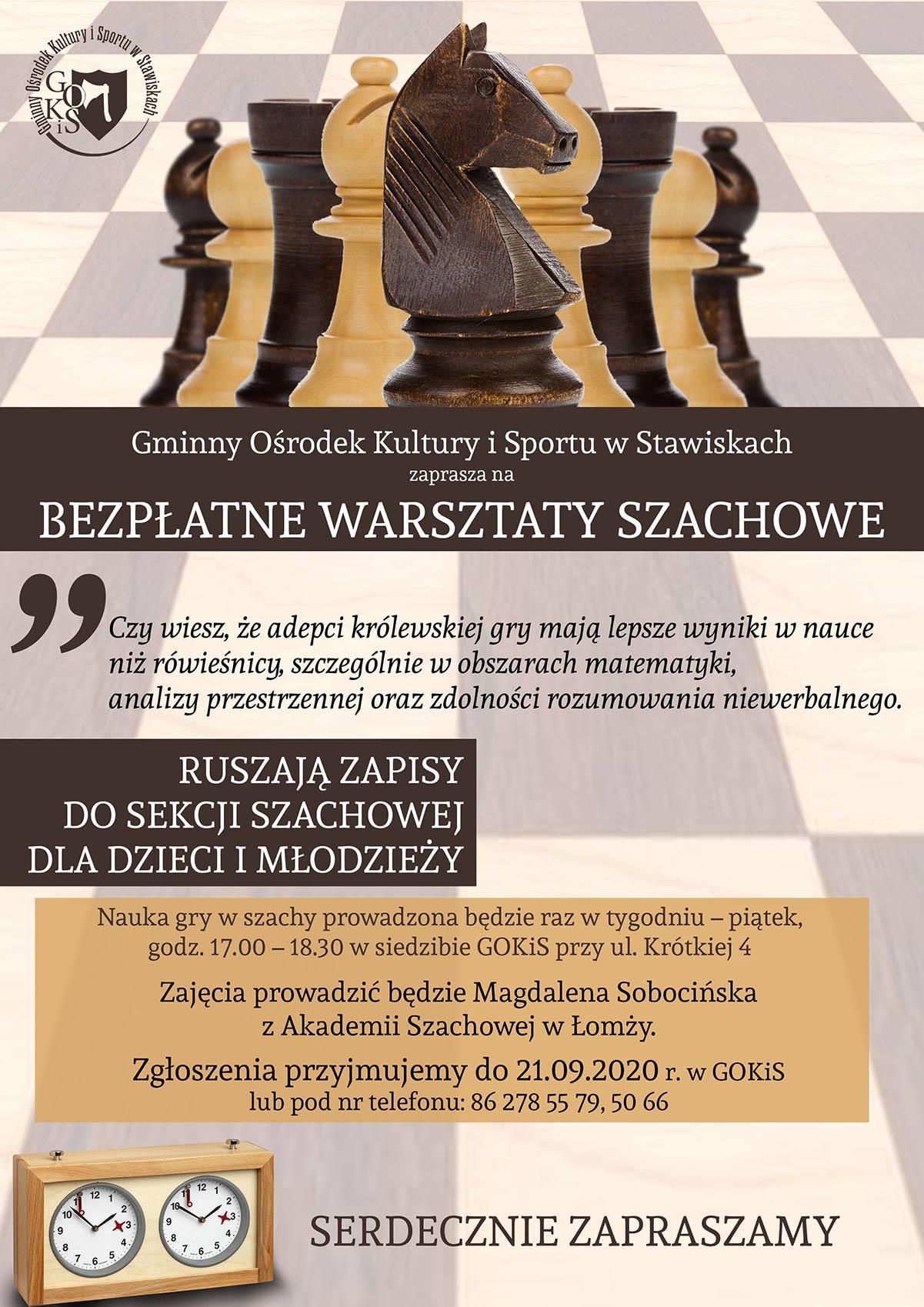 warsztaty szachowe