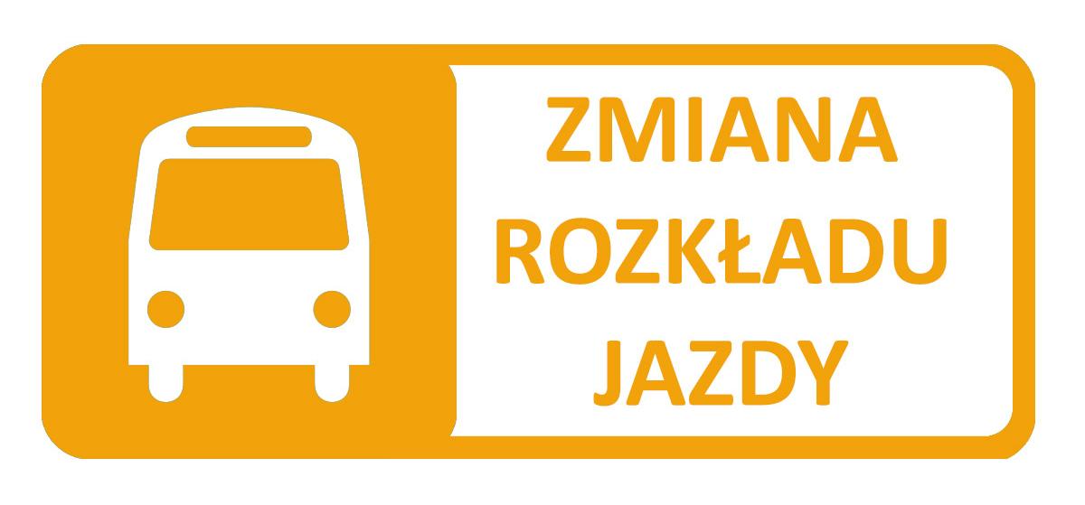 zmiana rozkładu jazdy autobusów - obrazek dekoracyjny